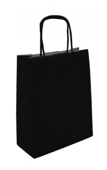 Papieren draagtas 45x17x48cm zwart
