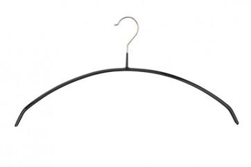 Antislip kledinghanger B46 cm boogmodel Zwart