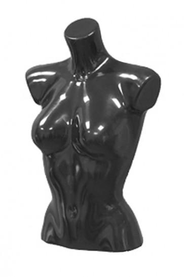 Dames torso kort zwart