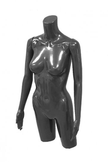 Dames torso zwart met armen