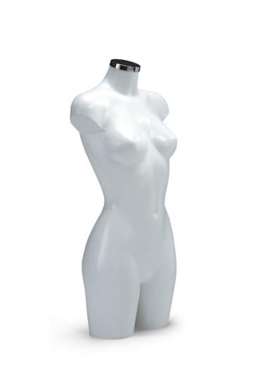 Torso vrouw wit