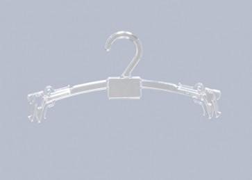 ET Lingeriehanger 32 cm Transparant