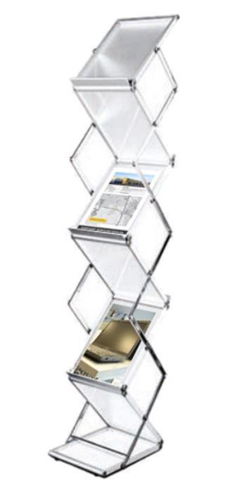 Folderstandaard opvouwbaar 6 x A4