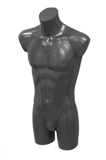 Heren torso zwart