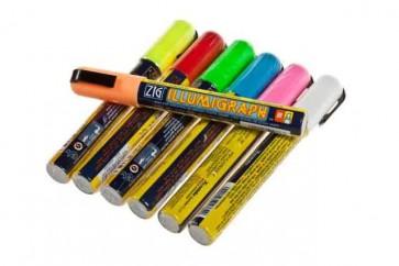 Krijtstift 2-6 mm diverse kleuren