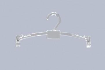 Lingerie klemhanger 20 cm Transparant