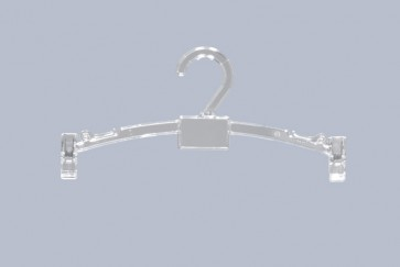 Lingerie klemhanger 27 cm Transparant