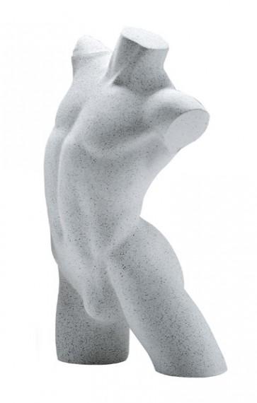 Lingerietorso man licht graniet zonder armen