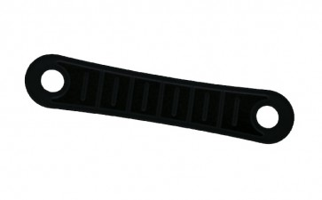 Non slips voor kledinghangers 100 stuks Zwart