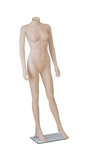 Onbreekbare dames etalagepop H1 huidskleur