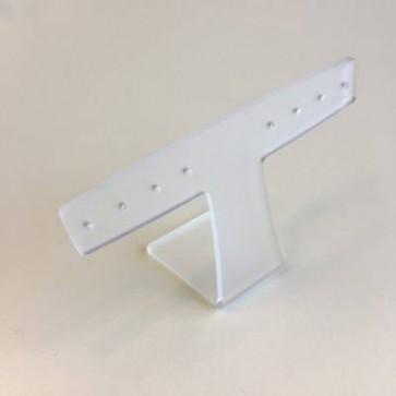 Oorbellen presentatie breed 10cm breed x 7cm hoog.