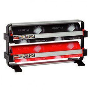 Papierrolhouder staand Legro 2 rollen rond 12.5cm breedte70 cm