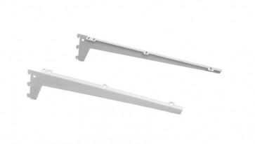 Schapdrager legbord 230mm wit per paar