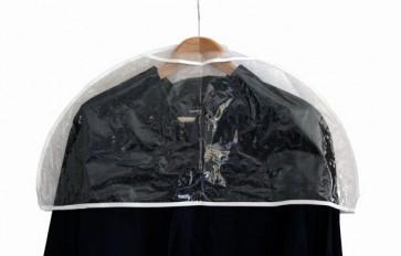 Schouderhoes voor kleding 60cm transparant