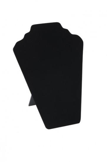 Sieradenpresentaties zwart fluweel 32 cm hoog