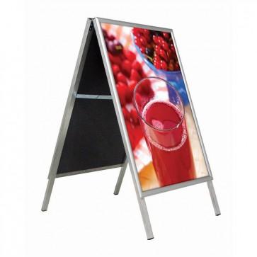 Stoepbord B2 (50 x 70 cm) aluminium