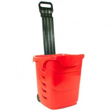 Winkelmandjes / trolleys Rood 38 Liter