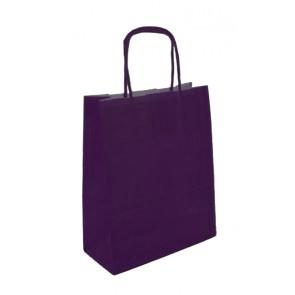 Papieren draagtas 45x17x48cm aubergine