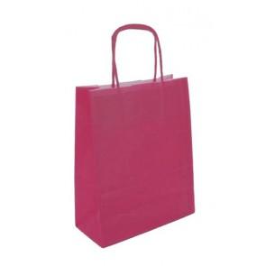 Papieren draagtas 45x17x48cm roze