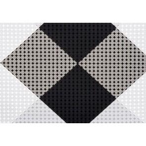 Cadeaupapier 40 cm x 100 meter zwart-wit
