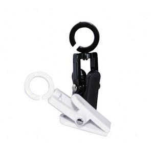 Cleverclip mini lengte 50 mm per 25 stuks Zwart