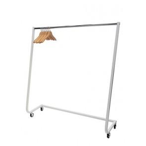 Design kledingrek wit 164 cm hoog