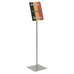 Folderstandaard A4 100 cm hoog