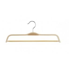 Gelaagde kledinghanger hout 37 cm met broeklat