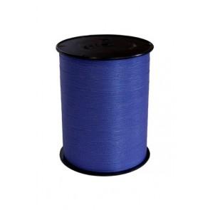 Krullint 10 mm mat Blauw
