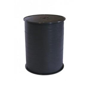 Krullint 10 mm mat Zwart