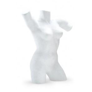 Lingerietorso vrouw wit met armen