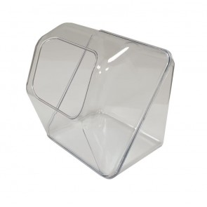 Snoepbak candy box transparant vooraanzicht 2