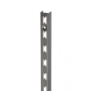 Wandrek rail hamerslag 240cm hoog extra sterk
