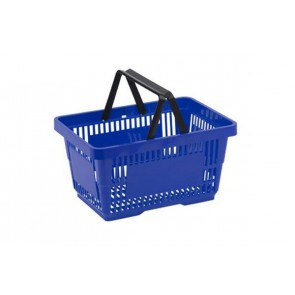 Winkelmand Blauw 30 liter