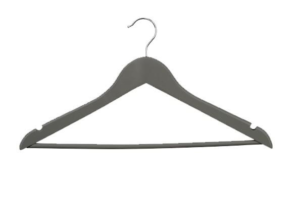 Geknikte hanger 44 cm met broeklat antraciet grijs 8084127