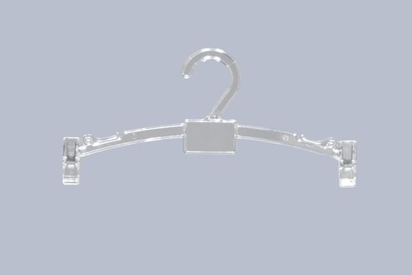 Lingerie klemhanger 27 cm Transparant 811104349