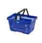 Winkelmand Blauw 22 liter